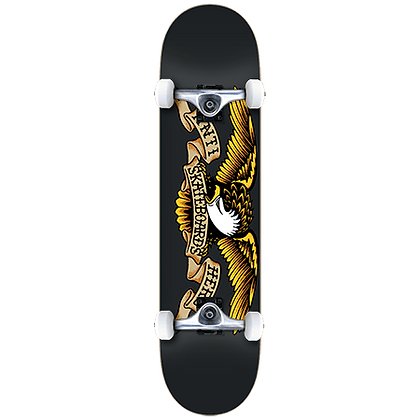 "Anti-Hero Classic Eagle 8.25"" Complete Skateboard Black"