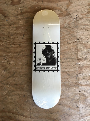 "Dex ""Respect The Vet"" Deck"