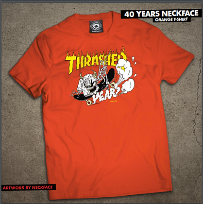 Thrasher - 40 Years Neckface Tee!