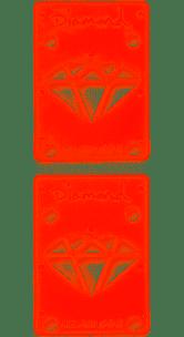 Diamond Rise And Shine Riser Pads - Purple/Red