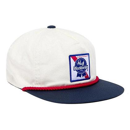 HUF x PBR Snapback Hat