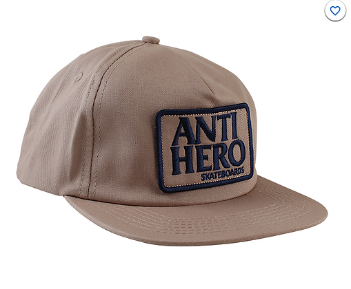 Anti-Hero Reserve Patch hat