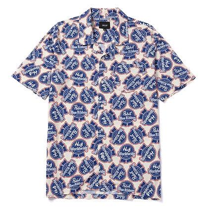 HUF x PBR Rayon Woven Shirt