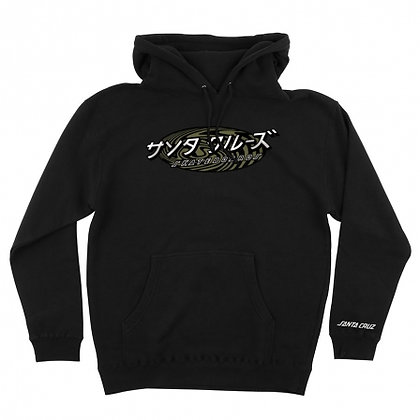 Santa Cruz Japanese Twister Dot P/O Hooded Sweatshirt
