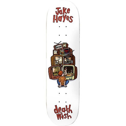 Deathwish - Hayes Channel Surfing Deck 8.25