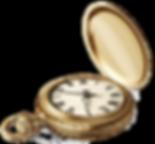 תמונת אווירה - שעון כיס מוזהב
