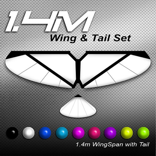 1.4m Full Wing & Tail Single Colour