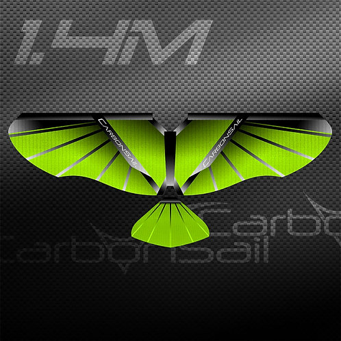 1.4m Neon Green SS Wing