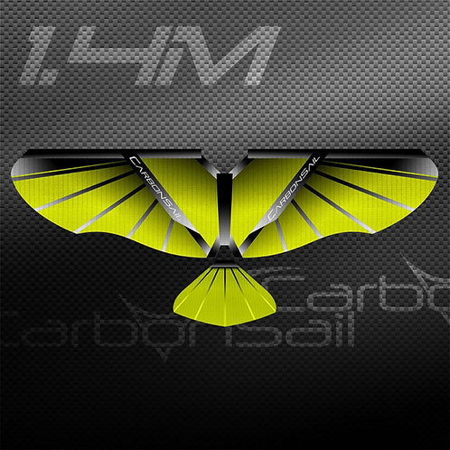 1.4m Neon Yellow SS Wing