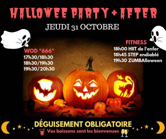 Soirée HALLOWEEN 31/10/2019