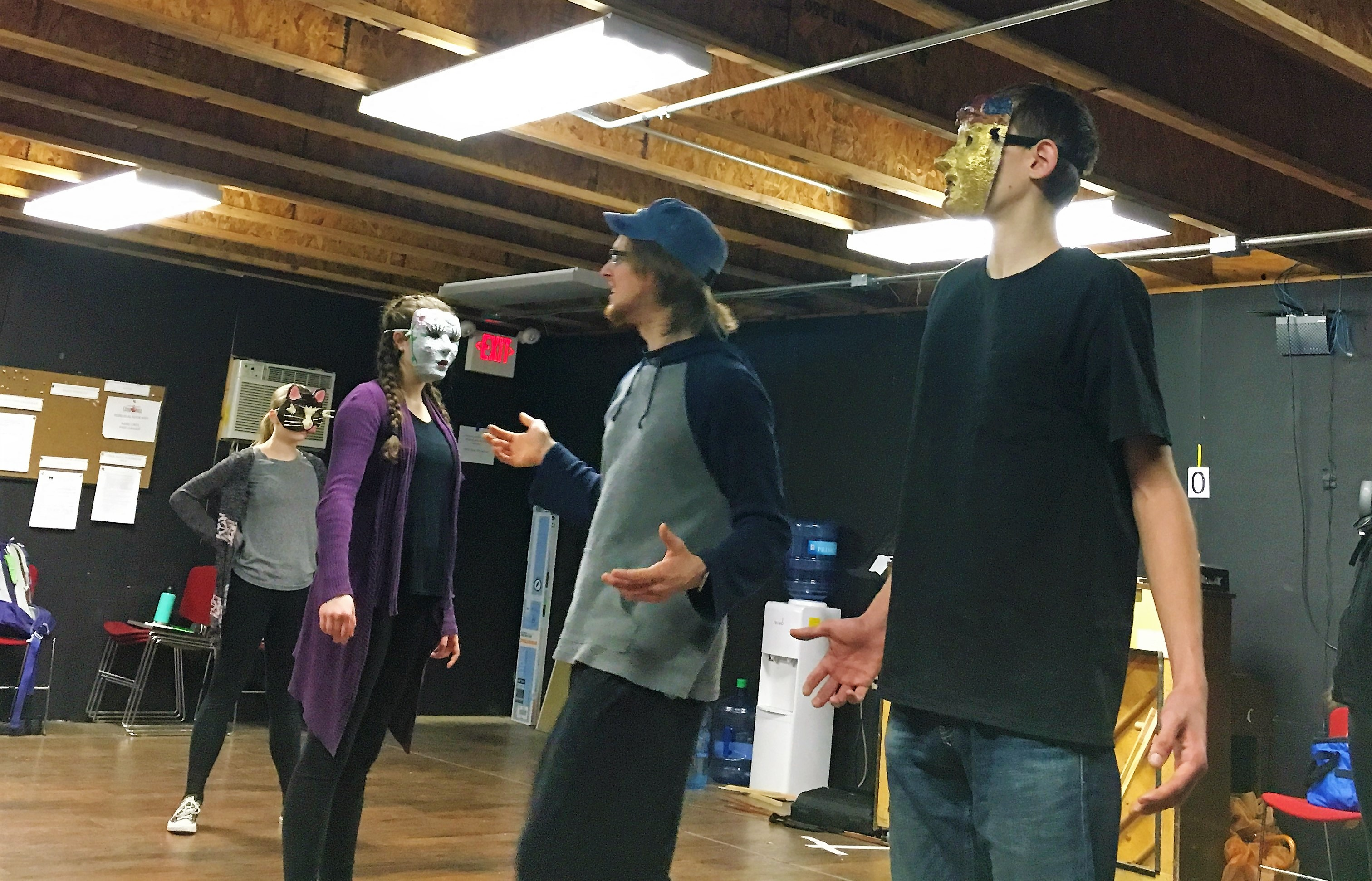 "High School ""Masking"" Workshop"
