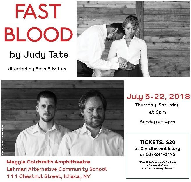 FAST BLOOD by Judy Tate