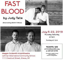 FAST BLOOD by Judy Tate