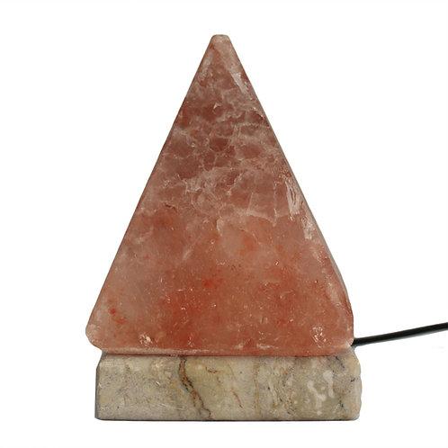Lampa Solna USB Piramida Wielobarwna 9cm