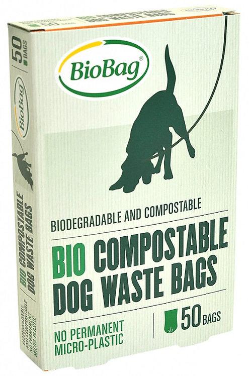 Worki na Psie Odchody -Kompostowalne i Biodegradowalne 50szt. BioBag