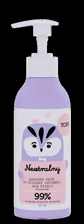Naturalny Bezzapachowy Płyn do Higieny Intymnej dla Dzieci 300ml Yope