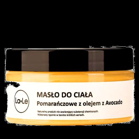Masło do Ciała Pomarańczowe z Olejem z Avocado 100ml La-Le