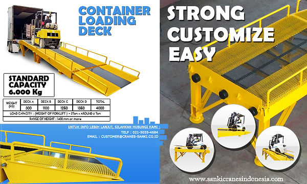 container loading deck