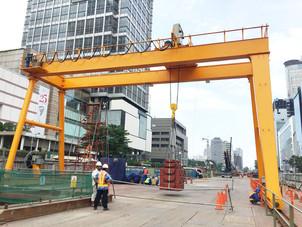Gantry Crane Cap.10t ( MRT JKT Project )