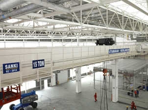 SankiCranesIndonesia has delivered Overhead Cranes for Suzuki Indomobil Motor