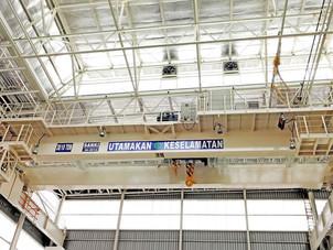 Crab Type Overhead Crane installed at PT. SUZUKI FACTORY