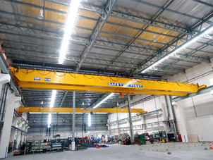 Sanki Cranes Indonesia Delivered Double Hoist for PT. Meitoku