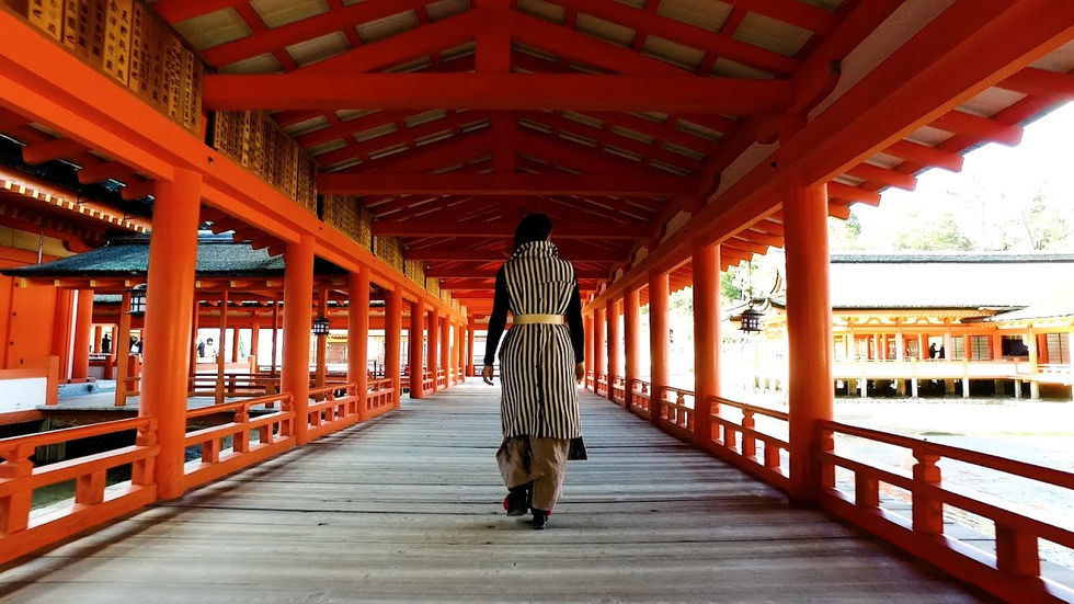 In Japan with Koël ~HIROSHIMA・OSAKA・KYOTO~