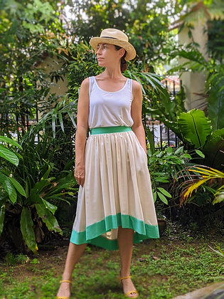 Dragon Rose Skirt in TENCEL™