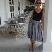 Sustainable fashion Dragon Rose Skirt