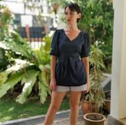 Eco-friendly fashion Gloxinia Blouse