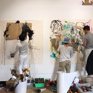 COLLABORATION LIVE PAINTING