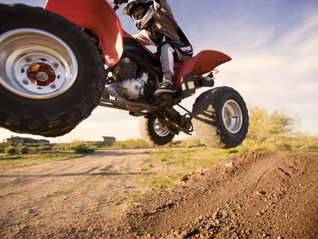 Know the dangers of ATVs and how to avoid accidents