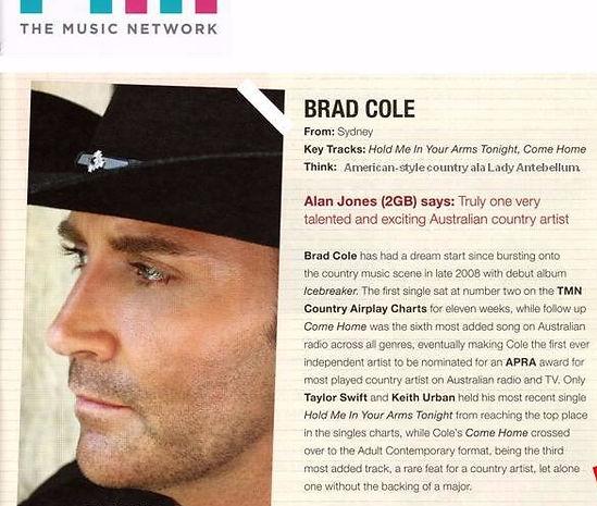 Brad Cole Australia