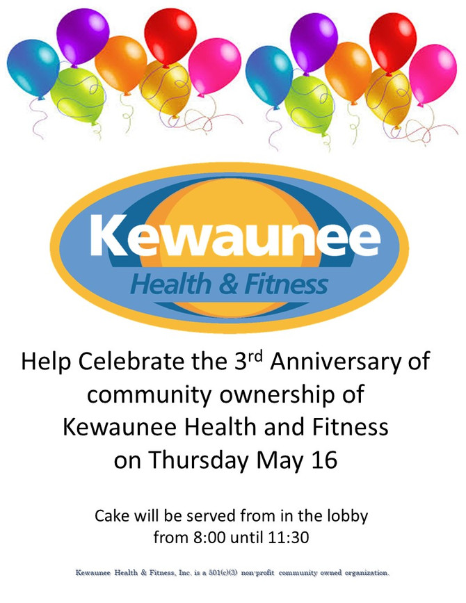 Happy Birthday - Our Third Birthday under Community Ownership