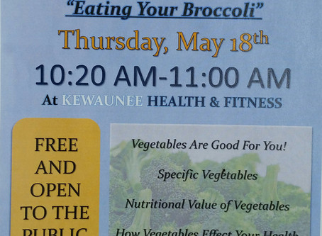 Healthy Living Presentation: Eating Your Broccoli
