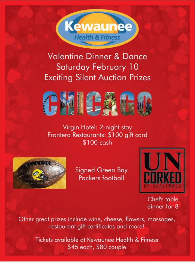 Valentine Dinner/Dance and Silent Auction