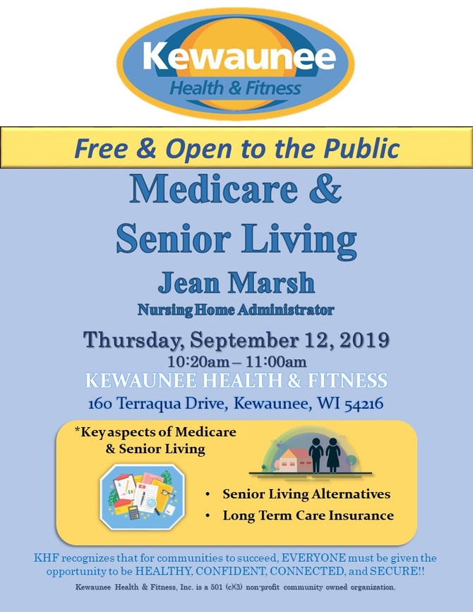 Here's a place you can get some answers to your questions about Medicare and Senior Living.