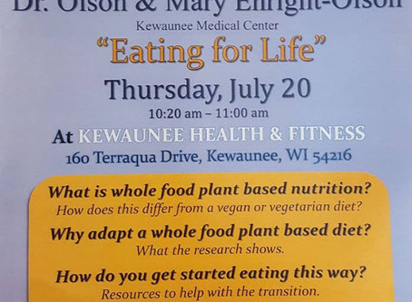 Healthy Living Presentation: Eating for Life