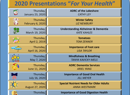 KHFI Wellness Series Schedule
