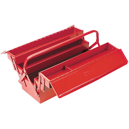 EXPERT 530MM EXTRA LONG FOUR TRAY CANTILEVER TOOL BOX