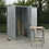 Thumbnail: Galvanized Steel Shed 1.5 x 1.5 x 2m