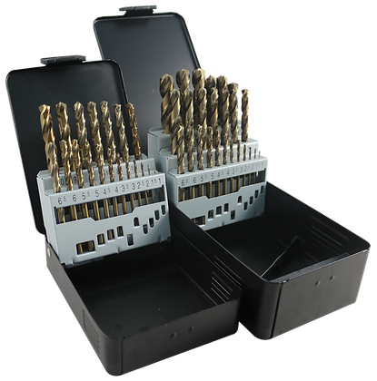 HSS COBALT DRILL BITS KITS 19pc