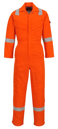 Portwest FR28 - Flame Resistant Light Weight Anti-Static Coverall 280g