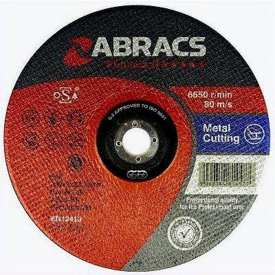 Abracs 125mm x 3mm x 22mm Metal Cutting Proflex