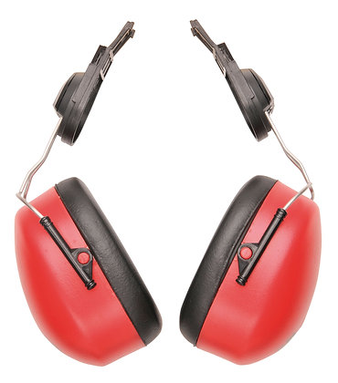 Portwest PW47 - Endurance Clip-On Ear Protector (Red)