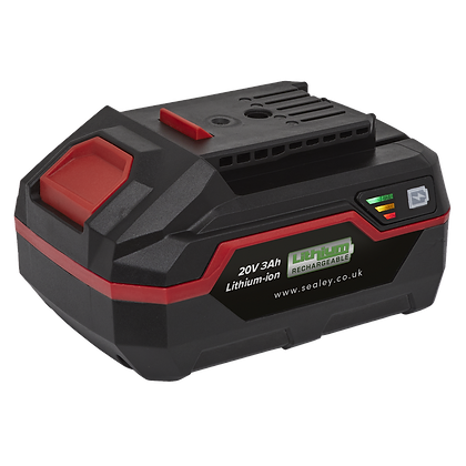 Sealey Power Tool Battery 20V 3Ah Lithium-ion for CP20V Series