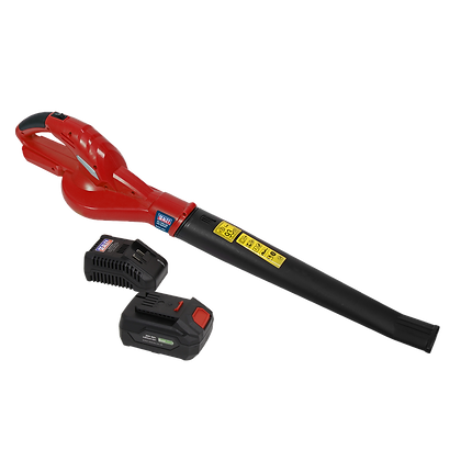 Sealey Leaf Blower Cordless 20V with 4Ah Battery & Charger