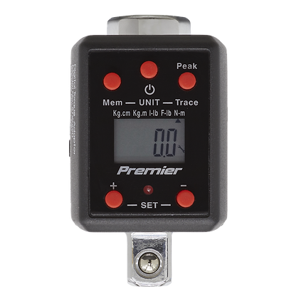 """Torque Adaptor Digital 1/2""""Sq Drive 40-200Nm(29.5-147.5lb.ft)"""