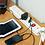Thumbnail: Extension Cable 3m 4 x 230V + 2 x USB Sockets - White