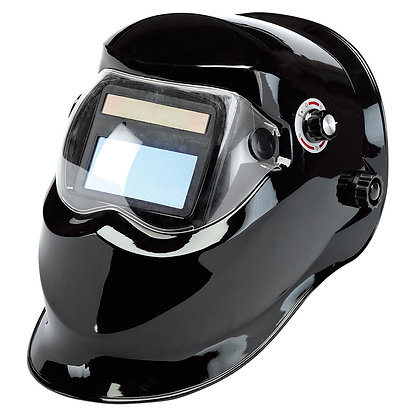 SOLAR POWERED AUTO-VARIOSHADE WELDING AND GRINDING HELMET